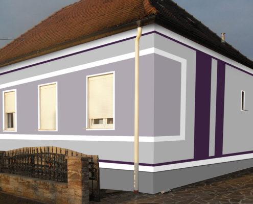 Fassadengestaltung farbe beispiele  Fassadengestaltung. Design und Farbe mit Vorabvisualisierung