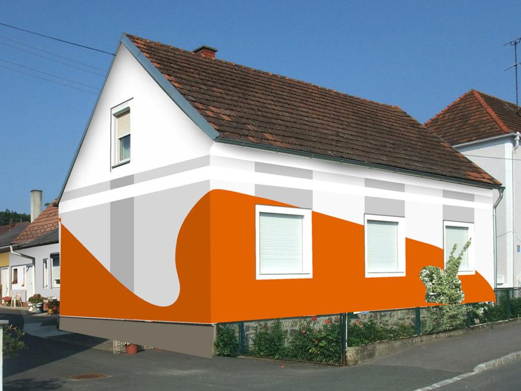 Wunderschön Hausfassade Modern Referenz Von Gewerbe