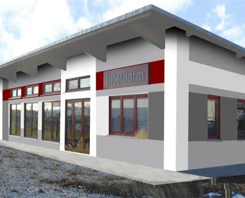Fassade Bungalow fassadengestaltung design und farbe mit vorabvisualisierung