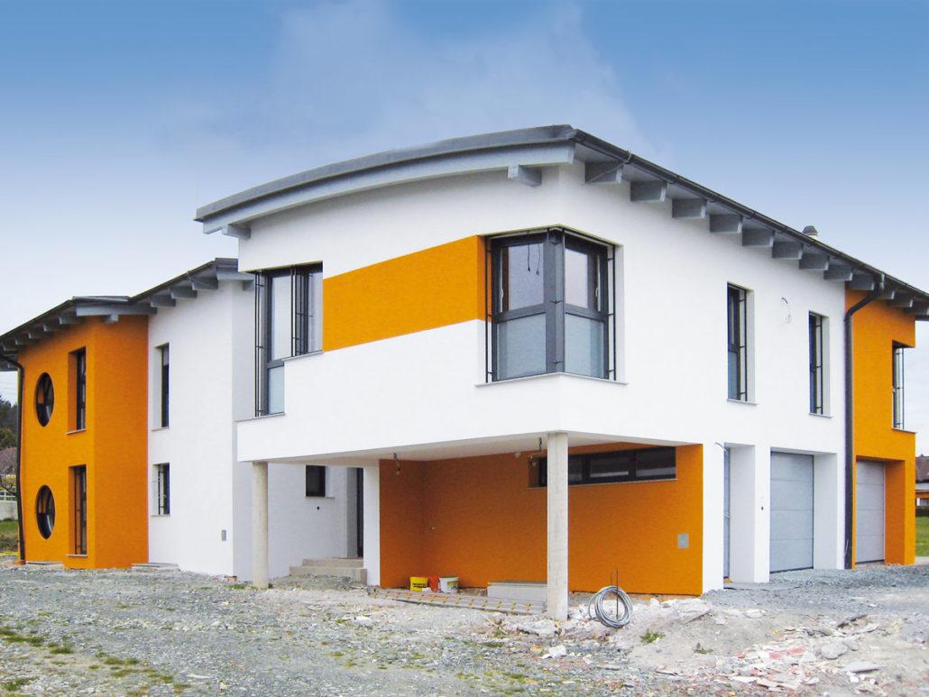 Fassade Haus ...