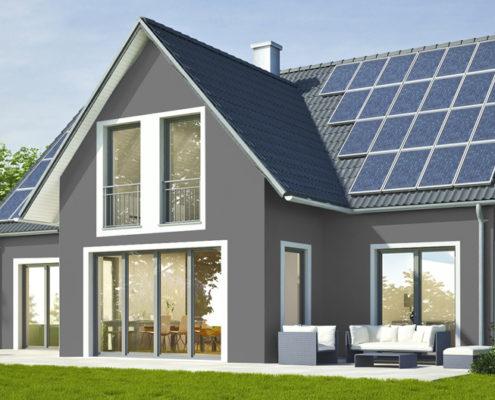 Fassadenfarbe beispiele gestaltung  Fassadengestaltung. Design und Farbe mit Vorabvisualisierung