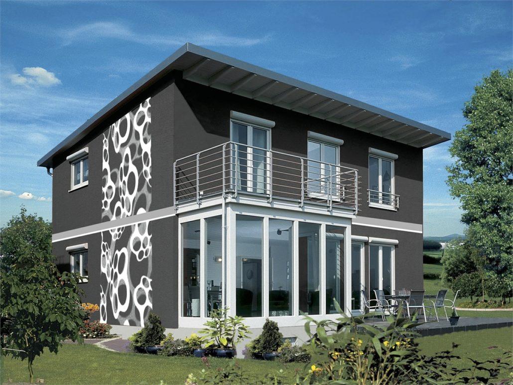fassadengestaltung design und farbe mit vorabvisualisierung. Black Bedroom Furniture Sets. Home Design Ideas